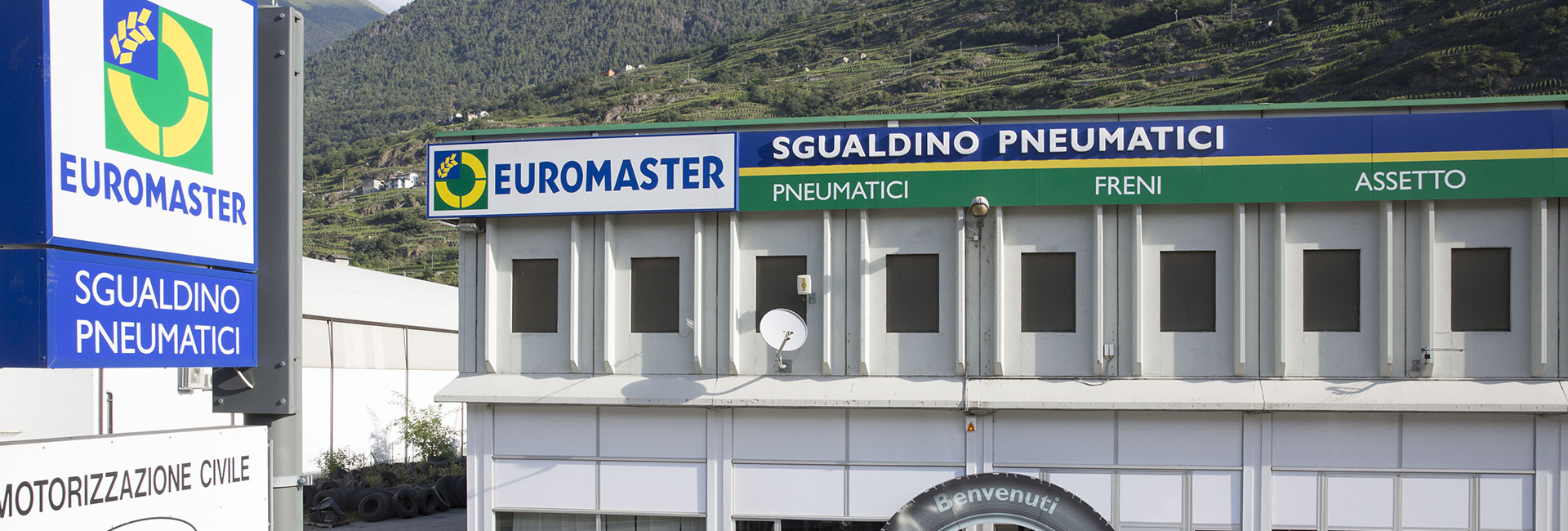 gommista euromaster Castione Sondri